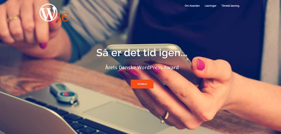 Årets danske WordPress award